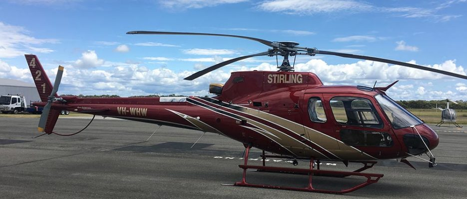 Eurocopter AS 350 VH WHW | Stirling Helicopters