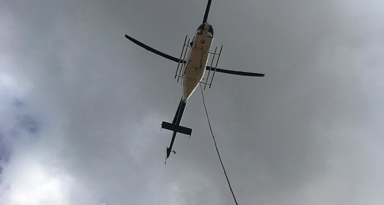 Helicopter Aerial Crane Services | Stirling Helicopters